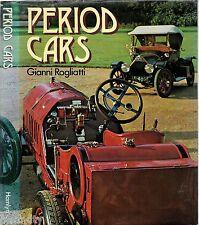 Vintage 1973 - PERIOD CARS Gianni Rogliatti FORD ALFA BUGATTI MERCEDES MASERATI