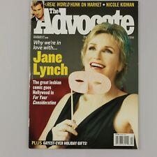 THE ADVOCATE Magazine NOV 21 2006 JANE LYNCH lesbian gay interest NR