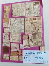 KONVOLUT L Basteln DIY KIT Möbel 160 eur dollhouse  6zimmer