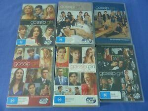 Gossip Girl DVD Complete Series Seasons 1-6 R4 Free Tracked