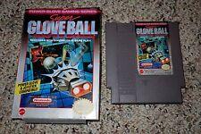 Super Glove Ball (Nintendo Entertainment System NES, 1990) with Box FAIR B