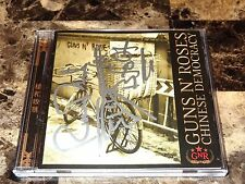 Guns N' Roses Signed Chinese Democracy CD Bumblefoot Ron Thal Art Of Anarchy COA