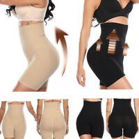 Ladies SEXY High-Waisted Shapermint Shapewear Shaper Shorts Women Body Shaper