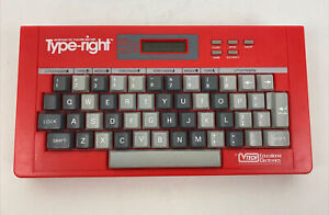 1988 V-Tech Type Right Interactive Electronic Typing Tutor Keyboard (TESTED)