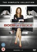 BODY OF PROOF COMPLETE SERIES 1-3 DVD Season Dana Delany Jeri Ryan New UK Rel R2
