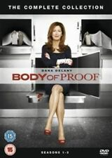 BODY OF PROOF COMPLETE SERIES 1-3 DVD Season Dana Delany Jeri Ryan New UK Rel R2