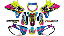 5484 YAMAHA YZF250 YZF450 2003 2004 2005 DECALS STICKERS GRAPHICS KIT