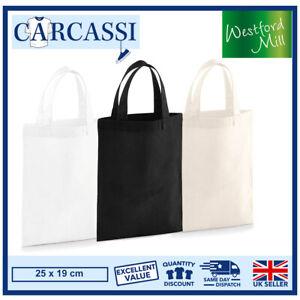Canvas Tote Bag Black White Natural Bag Small Reusable Party Bag For Life