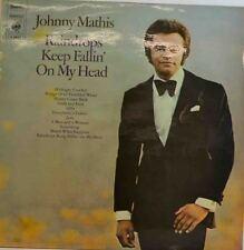 "JOHNNY MATHIS - GOUTTES DE PLUIE KEEP FALLIN '`ON MY HEAD 12"" LP (W304)"