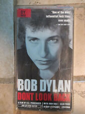 Bob Dylan – Don't Look Back VHS Docurama 2000 Collector's Edition