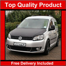 VW CADDY & MAXI 2010-15 BONNET BRA TOP QUALITY / FIT PROTECTOR COVER STONE GUARD