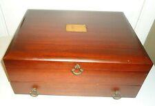 Vintage Silverware Flatware Chest Storage Box Eureka Pacific Tarnish Resistant