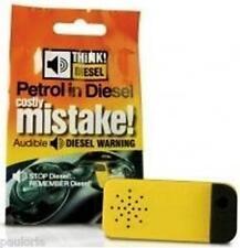 Genuine Think Diesel - Audible Fuel Warning Device - fits inside car petrol flap