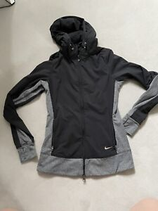 Nike Womens Dri Fit Hoodie Running Jacket XS