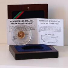PORTUGAL 1$00 ESCUDOS 2001 GOLD