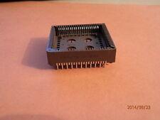 Augat surface mount ic socket 84 pin PCS-084A-1 qty = 2