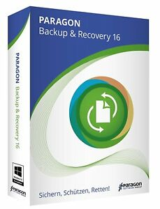 Paragon Backup + Recovery 16 PC New+Boxed