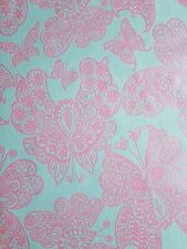 Erismann 1512-50 Discover Butterflies Pink Blue Paste the Wall Wallpaper