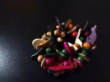 bracelet fantaisie vintage en bois