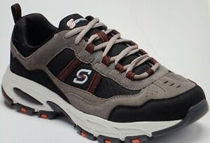 NEW Men's S Sport by Skechers Jerald Wide Width Sneakers  Gray 7W FREE Shipping!