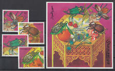 Somalia (Soomaaliya) - Michel-Nr. 683-686 + Block 47 postfrisch/** (Käfer / Bug)