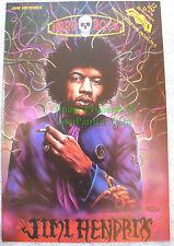 Jimi Hendrix: Hard Rock Comic #12 Revolutionary Comics Unauthorized Bio Vhtf!