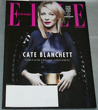 Elle Canada Magazine Jan 2014 Cate Blanchett Donald Glover Georgia May Jagger
