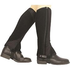 Dublin Easy Care Mesh Half Chaps - 2 colors, 5 Sizes available NEW