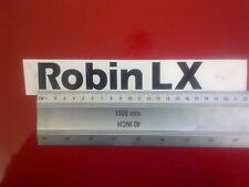 Reliant Robin LX Tailgate decal graphic badge *NEW ITEM TO ORIGINAL DIMENSIONS*