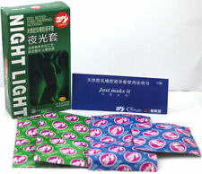 100 PCS Night Light Glow In The Dark Condoms FROM FAMILY PLANNING COUNTRY
