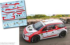 Decal 1:43 Luis Monzon - CITROEN DS3 R5 - ERC Rally Islas Canarias 2016