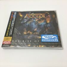 ACCEPT The Rise of Chaos JAPAN CD NEW 2017 SEALED