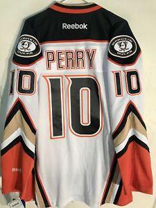 Reebok Premier NHL Jersey Anaheim Ducks Corey Perry White sz S
