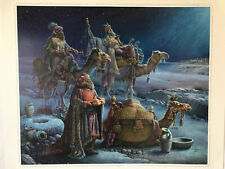 Tom DuBois and the Wise Men Came Bearing Gifts signed numbered 24 X 28 Poster