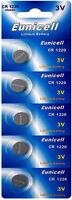 5 x CR1220 3V Lithium Knopfzelle 40 mAh ( 1 Blistercard a 5 Batterien)Eunicell