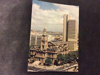 Vintage Postcard/Promo Card - Sydney Town Hall