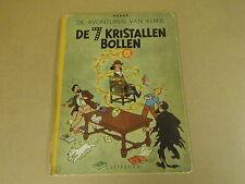 STRIP 1° DRUK GEKARTONNEERD UIT 1948 / KUIFJE - DE 7 KRISTALLEN BOLLEN