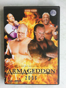 WWE Armageddon 2006 Wrestling DVD Undertaker Kane Batista Matt Jeff Hardy
