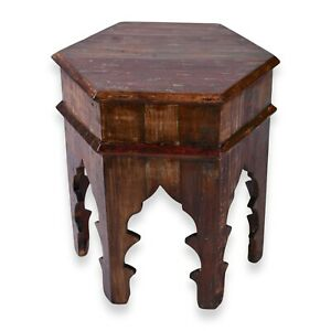 Reclaimed Moroccan style Side table | Accent Table | End Table