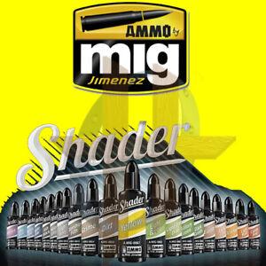 Ammo by MIG Jimenez Acrylic Shader Paint 10ml ~ Free Shipping on Orders $35+