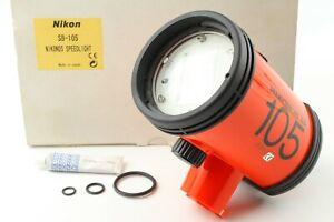 [Unused in BOX] Nikon SB-105 Underwater Strobe Flash For nikonos  From Japan