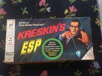 KRESKINS ESP GAME 1966 Vintage