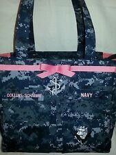 Anchor U.S. Navy handmade custom diaper bag embroidery choice colors words