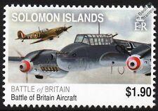 Messerschmitt Bf.110 vs. RAF SPITFIRE WWII Aircraft Stamp (Battle of Britain)