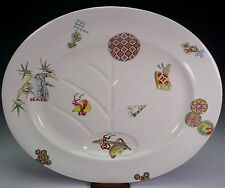 Royal Worcester Porcelain Aesthetic Style Christopher Dresser Platter Well 1875