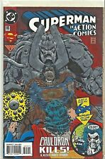Action Comics 695 Embossed Cover Lobo Appearance Superman DC 1994 VF