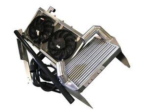 ROOSE Mazda RX7 V Mount Twin Turbo Intercooler, Radiator Package