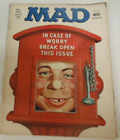 Mad Magazine In Case Of Worry Break Open This Issue No.167 June 1974 072314R
