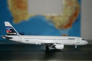 Aeroclassics 1:400 Ansett Airbus A320-200 VH-HYA (ACVHHYA) Die-Cast Model Plane