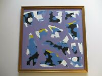 TSS SIGNED BRUTALIST ARTIST MODERNISM POP ICONIC ABSTRACT EXPRESSIONISM RARE